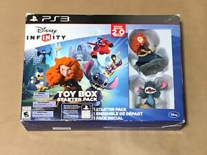 DISNEY INFINITY 2.0 EDITION PS3 TOY BOX STARTER PACK OPEN BOX NEVER USED