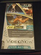 VideoNow Color Fear Factor 3 Disc Set (Pvd, 2005)