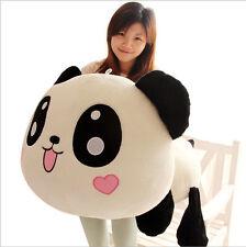 "Giant Panda Stuffed Pillow Plush Doll Toy Cute Kids Soft Bolster Big 45cm 17.7"""