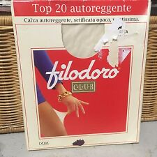 Vintage Filodoro lace to grip thigh high stockings pantyhose (no size listed)