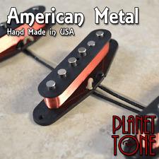 Planet Tone / Nico's USA American Metal Hand Made Pickup Set for Strat® - Hot!!!