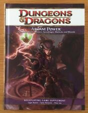 Dungeons & Dragons Arcane Power 4e RPG Hardback Edition WOTC