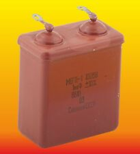 1 uF 1000 V Lot Of 2 Russian Paper In Oil Pio Audio Capacitors Mbgp МБГП-1