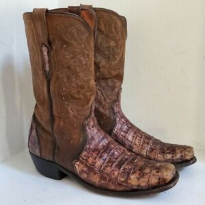 Lucchese Handmade  Cowboy Boots - Mens size 12 - NEEDS NEW SOLES - AS IS!