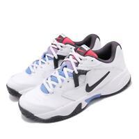 Nike Wmns Court Lite 2 White Black Blue Womens Tennis Shoes AR8838-103
