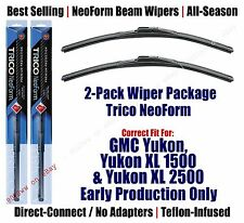 2-Pack Premium NeoForm Wipers fit 2008+ GMC Yukon w/Hook Arms ONLY - 16220x2