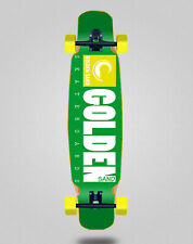 New listing Skate Skateboard Longboard Complete Mix Bamboo 46x9 Golden Sand Icon Green Yello
