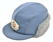 Winter Hat (Ladies) Original ddr-zoll Cap Winter East Germany Gray Blue NEW