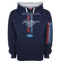 Licenced Ford Mustang Hoody Hoodie Classic Pony Logo Muscle Car Retro Sweatshirt