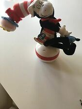Dr Seuss Cat In The Hat with tags Talking on WobbleBall Collectible Playalong