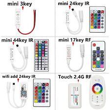 LED IR RGB Controler LED Lights Controller IR Remote Dimmer DC12V For RGB Strip