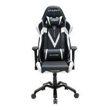 DXRacer OH/VB03/NW Black & White Valkyrie Series Gaming Chair & Cushions