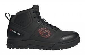 Five Ten Impact Pro Mid Shoes Core Black / Red / Core Black - Mountain Bike MTB
