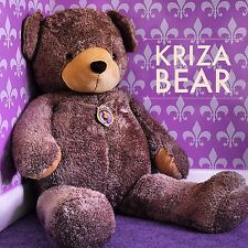 GIANT 5 Foot Plush Brown Kriza Teddy Bear ULTRA SOFT Stuffed Animal