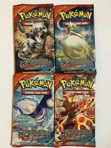Pokemon Cards TCG - XY Primal Clash - Booster Pack - Lot of 4 - Authentic