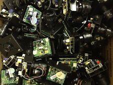 Lot of 50 Mixed Board CCTV Cameras 12V DC