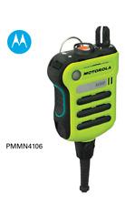 Motorola - PMMN4106 Xe500 Green Extreme Remote Speaker