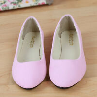 Womens Ballerina Ballet Dolly Pumps Ladies Pointy Toe OL Work Flats Shoes Size