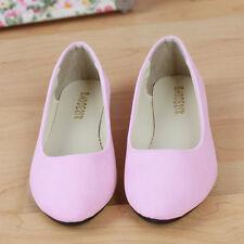 Süße Damen Spitz Zulaufend Ballerinas Pastell Pumps Flats Slipper Flache Schuhe