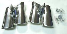 pare-chrome auspuff-blende chromé NOUVEAU pour MERCEDES BENZ W220 CLASSE S