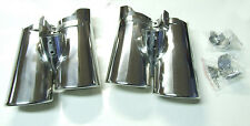 Chromblende Auspuff-Blende Chrom Neu für Mercedes Benz W220sc S Klasse 2001-2006