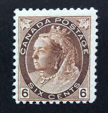Canada Queen Victoria 1898 6c Brown M/Mint SG 159. (cat £100)