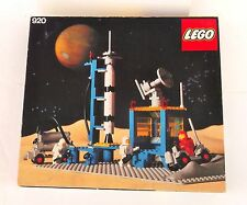 Lego Vintage Classic Space 920 ALPHA-1 ROCKET BASE Complete with Original Box