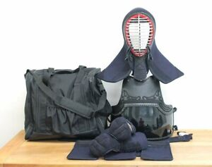 Kendo Uniform Do Bogu Set Japanese Martial Arts Armor XL Size Mint Condition F/S
