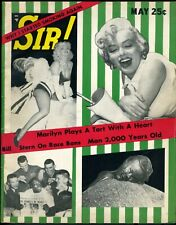 MARILYN MONROE • SIR! MAGAZINE • MAY 1956 • COMPLETE