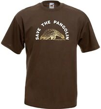SAVE THE PANGOLIN T-SHIRT EXTINCTION DISAPPEARING ENDANGERED SPECIES EXTINCT