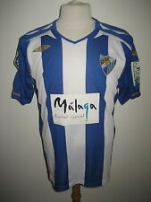 Malaga MATCH WORN Spain football shirt soccer jersey voetbal camiseta size M