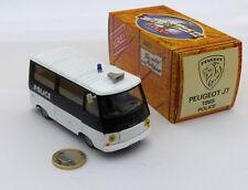 Norev Hachette Série Police Peugeot Fourgon J7 1965 Near Mint/Boite