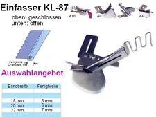 Einfasser KL-87, NUR unten offen, Breiten zur AUSWAHL ! UNIVERSELL passend !!
