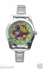 NEW Disney Winnie The Pooh & Eeyore Italian Charm Watch HTF