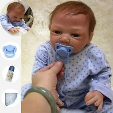 """20"""" REAL LIFE LIKE REBORN BABY BOY DOLL NEWBORN DOLLS SOFT SILICONE VINYL GIFS"""