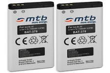 2x Batería PX1728E-1BRS para Toshiba Camileo B10, P20, P25, P100