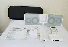 Logitech mm50 Portable Speaker System for iPod (White) with Accessories