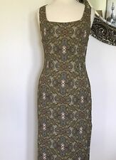 Abs by ALLEN SCHWARTZ Womens Oliver Pattern Size 10 Lined Pencil Dress