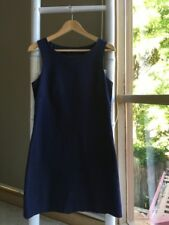 Classic THEORY Little Navy Shift Dress Sz 10 S GUC