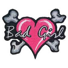 16221 Pink Chihuahua Dog Puppy Spiked Collar Punk Girl Embroidered Iron On Patch