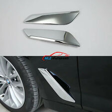 For BMW 5 Series G30 G31 2017 2018 Car Side Body Fender Cover Air Wing Vent Trim