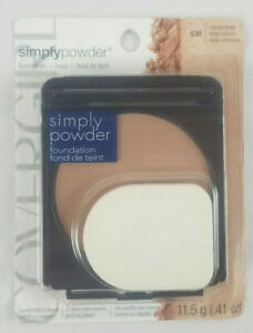 Covergirl Simply Powder Foundation 530 Classic Beige 0.41 oz Compact Makeup