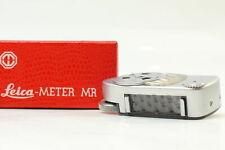 [Exc+5 in Box] Leica Meter MC Silver for M2 M3 M4 M4-2 M4-P From JAPAN
