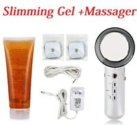 Infrared Ultrasonic EMS Massager 300g Body Slimming Weight Loss Massage Gel US