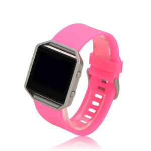 For Fitbit Blaze Replacement Silicone Band Strap Wristband Waterproof Bracelet
