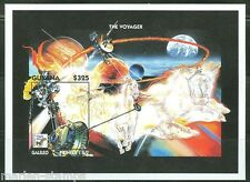 GUYANA IMPERFORATED SPACE PROBES  VOYAGER  SOUVENIR SHEET SC#2876  MINT NH RARE