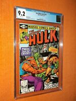 INCREDIBLE HULK #257 CGC 9.2 {Gog & Magog 1st apps.} - Clean-looking copy!!!