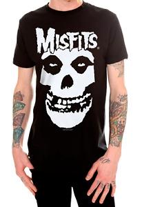 Misfits CLASSIC FIEND SKULL Horror Punk Rock T-Shirt NWT Licensed & Official