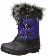 New Western Chief Girls Arcterra Water Resistant Snow Boot Purple Size US 4/UK 3