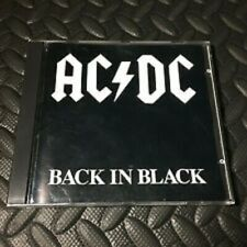 CD AC/DC BACK IN BLACK 1980 ATLANTIC LABEL NO BAR CODE 16018-2 FIRST PRESSING